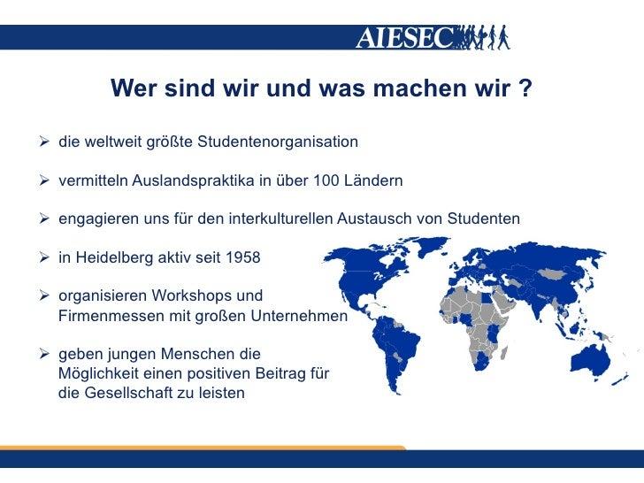 Was bietet dir AIESEC? Slide 2