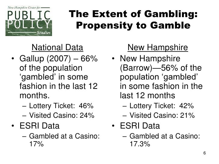 New hampshire gambling study us based online casino