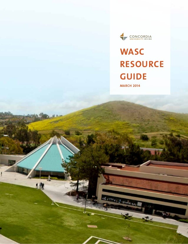 WASC resource guide March 2014