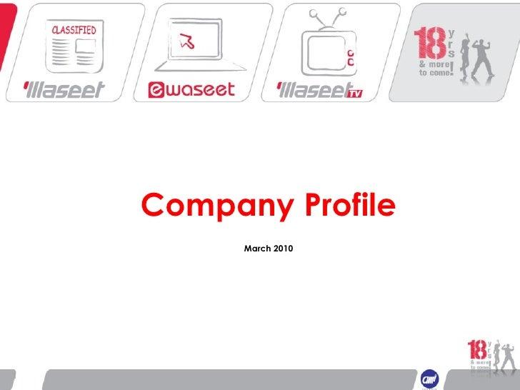 Company Profile March 2010