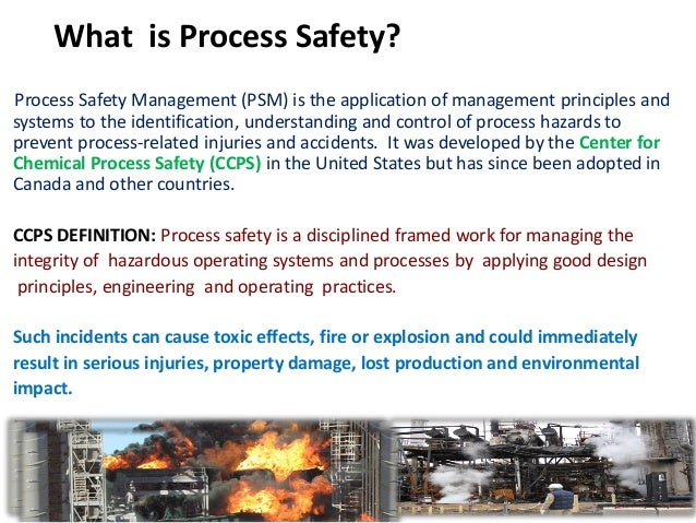 PSM: OSHA Process Safety Guidance and Information
