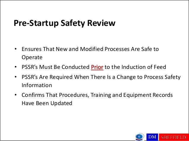 Washeq 2012 conference ppt slides pre startup safety review pronofoot35fo Image collections