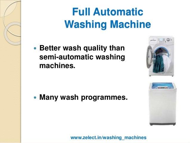 washing machines and environmental impact