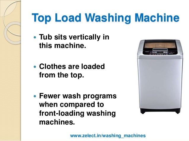 top loading vs front loading washing machine