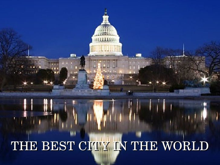 THE BEST CITY IN THE WORLD