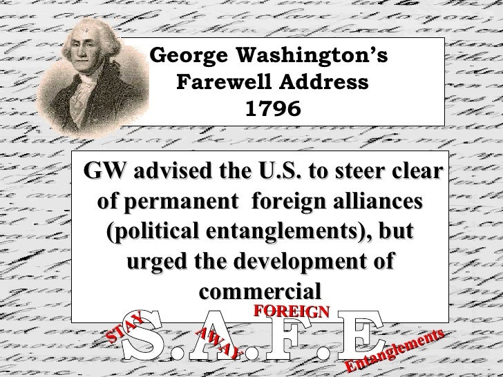 govt 200 george washington s farewell address analysis Govt 200 george washington s farewell address analysis cameron analysis essay #1 ap language and composition december 8, 2008 george washington resigned from office.