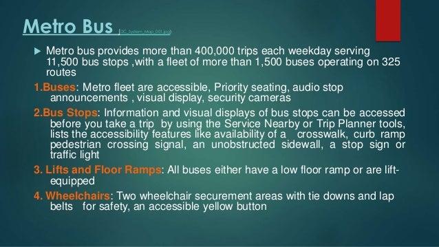 Washington dc transit system