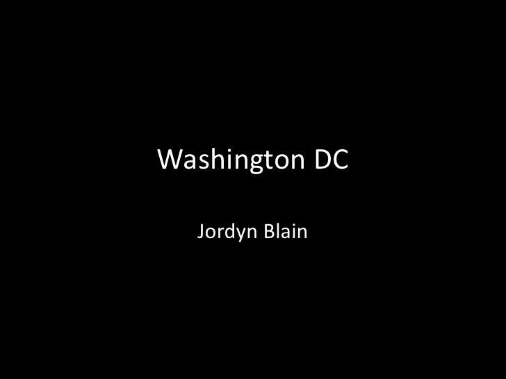 Washington DC  Jordyn Blain