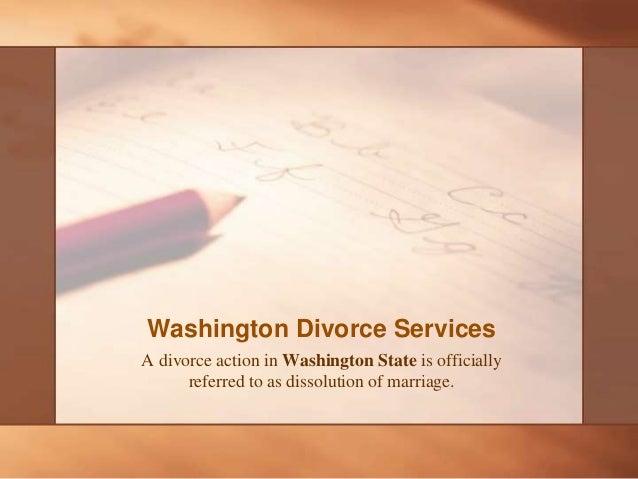 Washington State Divorce