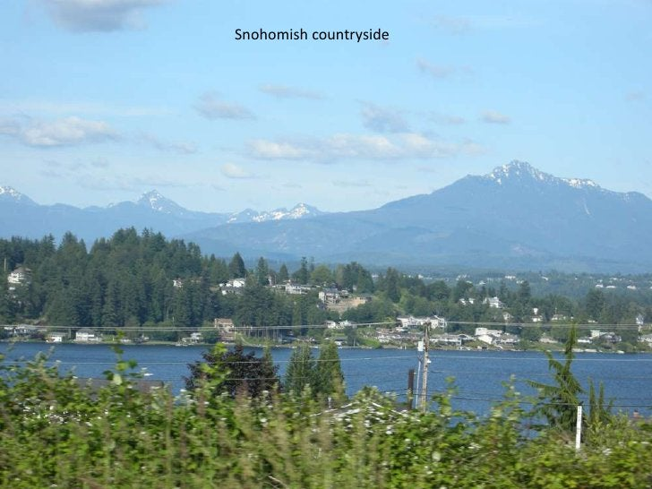 Snohomish countryside<br />