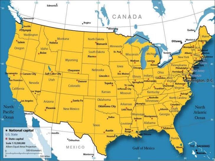 Washington dc map of america