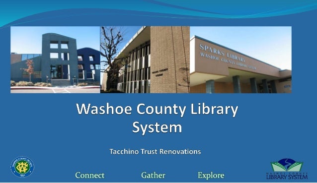 Washoe County Library System Branch Renovations 2017 2020