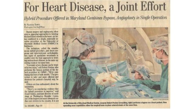Washington Post article on hybrid coronary revascularization