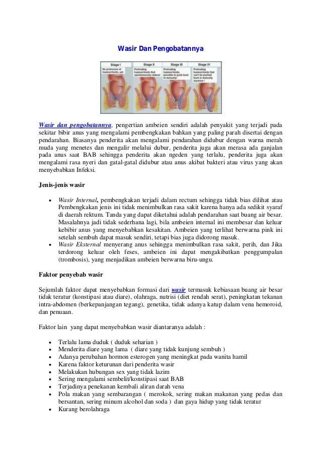 Wasir dan pengobatanya