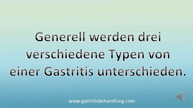 So fies ist die chronische Gastritis