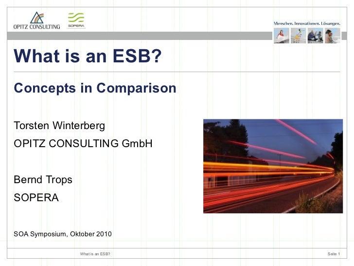 <ul><li>Torsten Winterberg </li></ul><ul><li>OPITZ CONSULTING GmbH </li></ul><ul><li>Bernd Trops </li></ul><ul><li>SOPERA ...