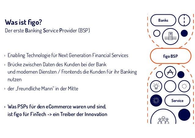 Was ist figo? Der erste Banking Service Provider (BSP) › Enabling Technologie für Next Generation Financial Services › Brüc...