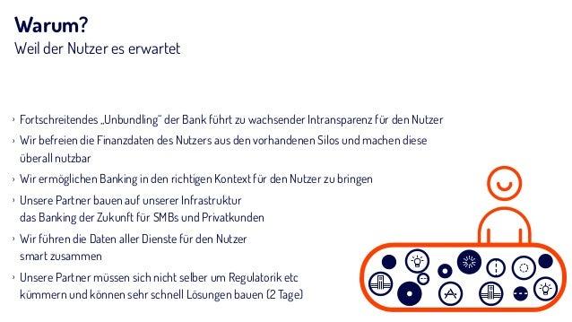 """Warum? Weil der Nutzer es erwartet › Fortschreitendes """"Unbundling"""" der Bank führt zu wachsender Intransparenz für den Nutz..."""