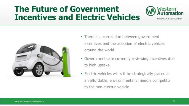 Electric Car Incentives >> Government Incentives Encourage The Adoption Of Electric