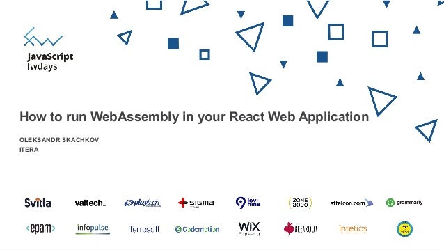 How to run WebAssembly in your React Web Application