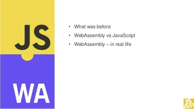 JS Fest 2018. Александр Скачков. WebAssembly vs JavaScript Slide 3