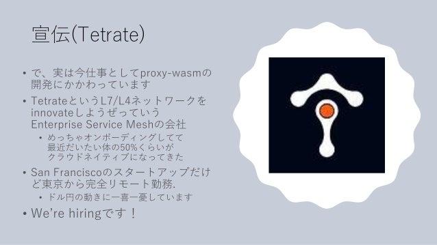 宣伝(Tetrate)