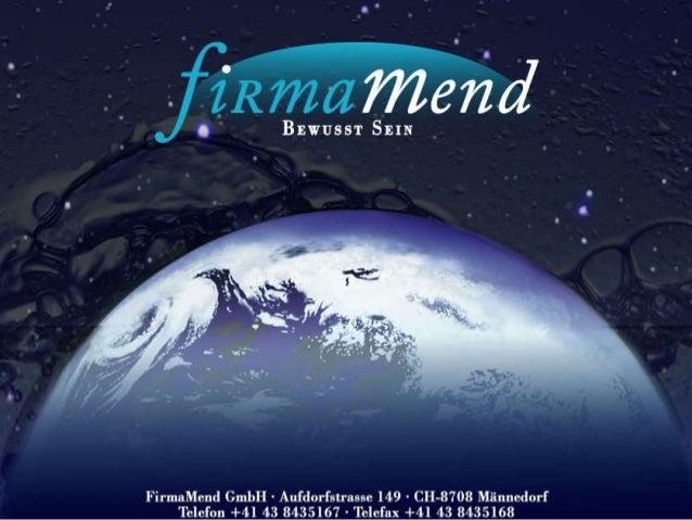 - FirmaMend GmbH - Bewusst Sein