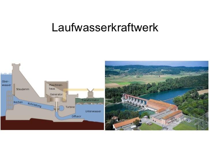 Laufwasserkraftwerk