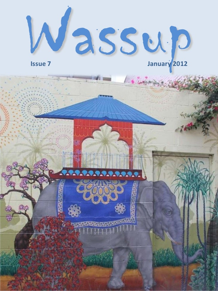 WassupIssue 7   January 2012