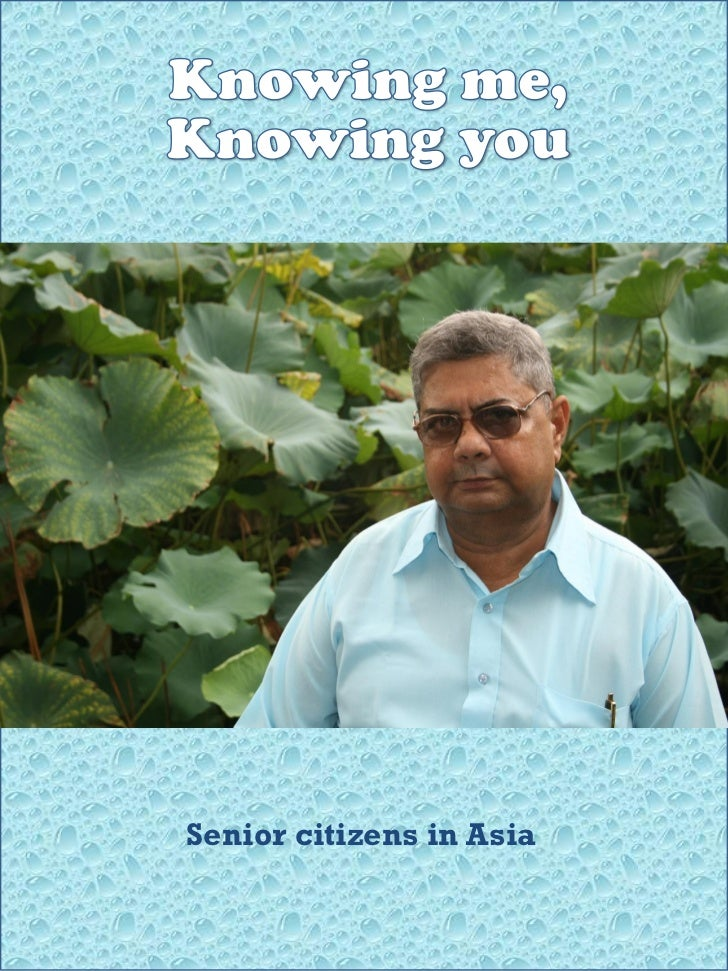 Senior citizens in Asia
