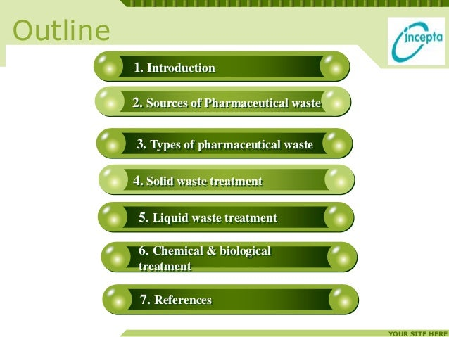 Waste management in pharmaceutical industry Slide 2