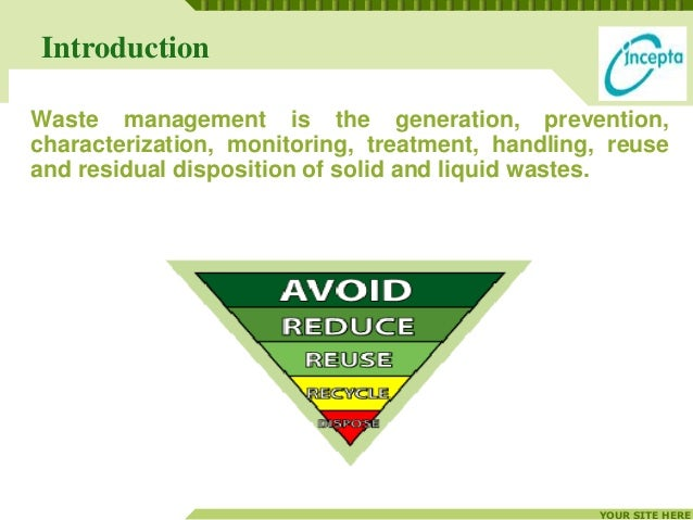 Waste management in pharmaceutical industry Slide 3
