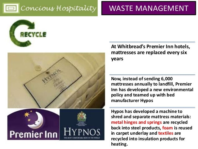 Waste Management In Hospitality