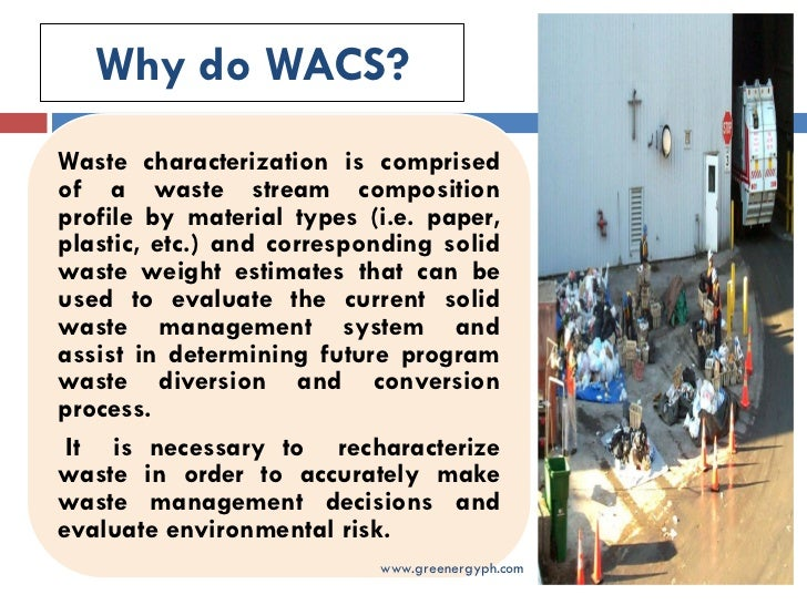 WASTE CHARACTERISATION STUDY - Saint Lucia Solid Waste ...