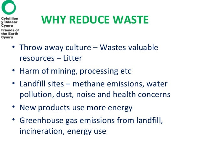 Waste and the environment Friends of the Earth Slide 2