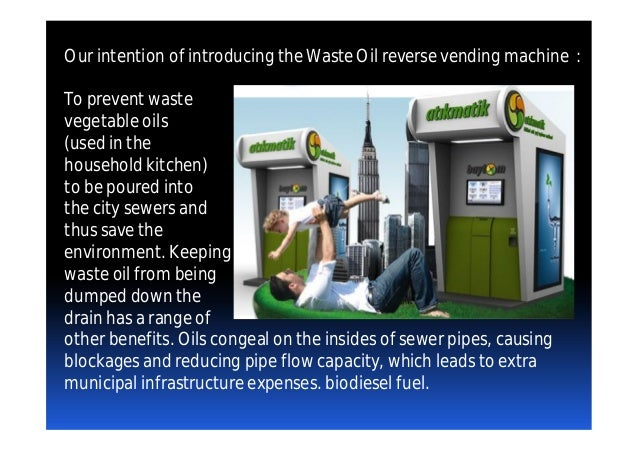 Waste Cooking Oil Recycling Machine