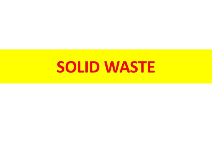Just pay attention to the lecture. The slides can be downloaded from  http://www.slideshare.net/haqinaam/waste-disposal<br...