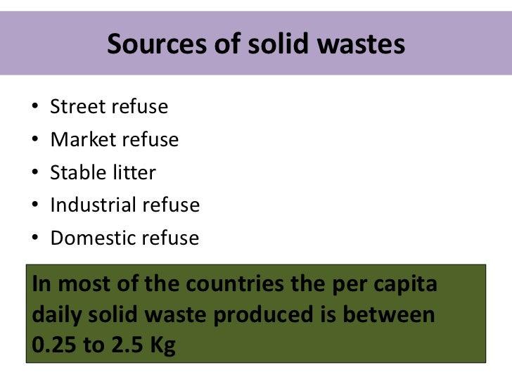 Waste disposal Slide 3