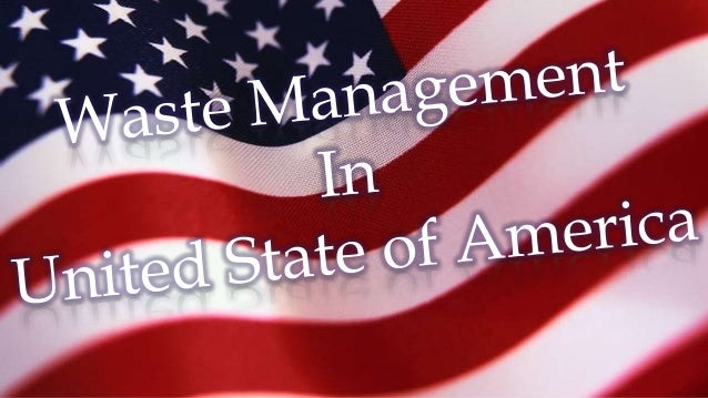 waste management in usa pdf