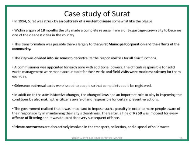 Read the Waste Management Case Study. | Graduate Paper Help