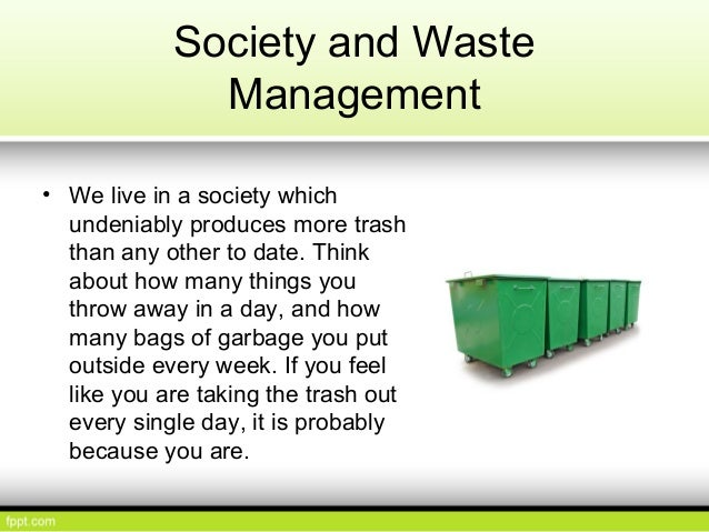 why waste segregation is important