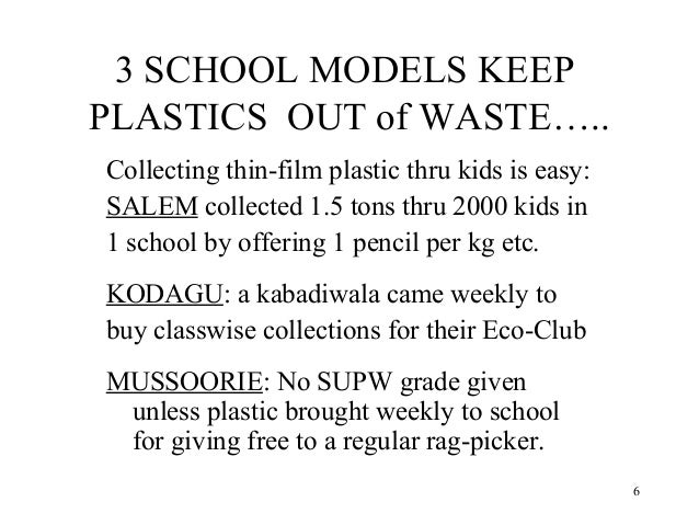 project topics on waste management