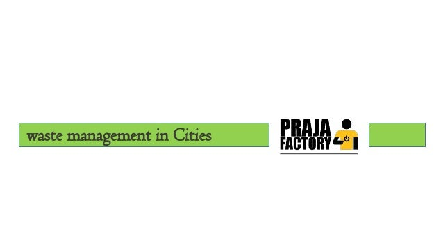 waste management in Cities