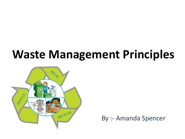 Waste Management Principles