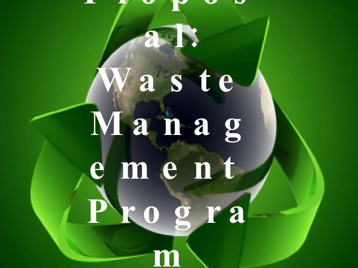 Waste Management Proposal Group6 Iv Aquino 1