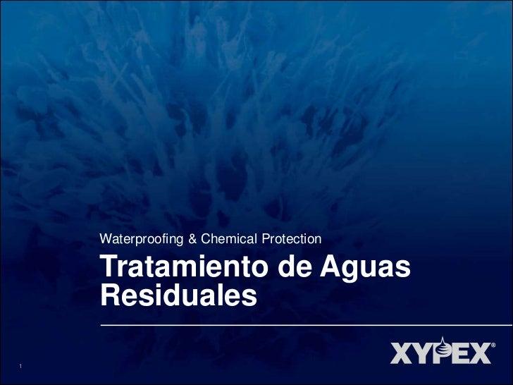 Waterproofing & Chemical Protection    Tratamiento de Aguas    Residuales1