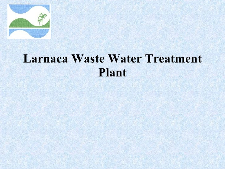 Larnaca Waste Water Treatment