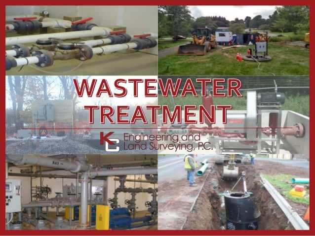 KC Engineering Offers a Broad Range of Wastewater Treatment