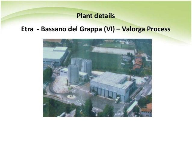 Plant details Etra - Bassano del Grappa (VI) – Valorga Process