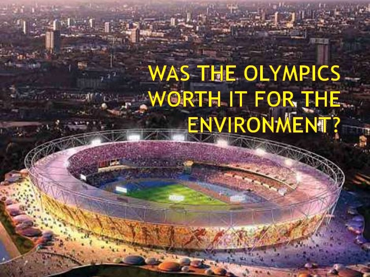    Firstly the stadium itself was a step in the right direction. It was    made from a lot of recycled steel. The circle ...